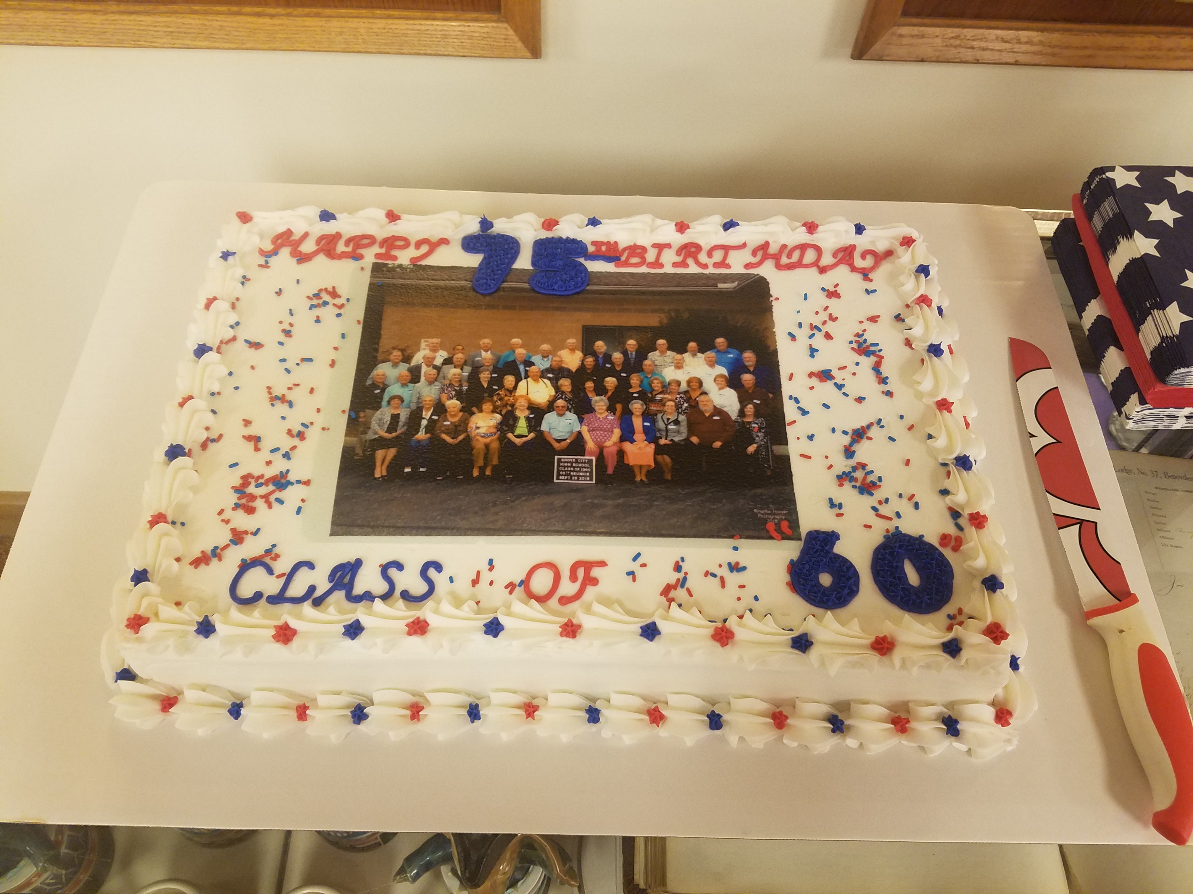 grove city ohio class of 1960 60 75th party